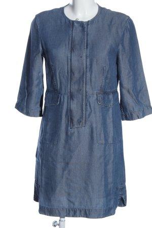 Strenesse Kurzarmkleid blau Casual-Look