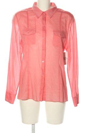 Strenesse Langarm-Bluse pink Business-Look