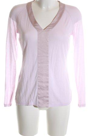 Strenesse Langarm-Bluse pink Casual-Look