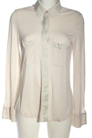 Strenesse Langarmhemd creme Casual-Look