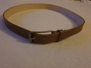 Strenesse Cinturón de cuero marrón grisáceo