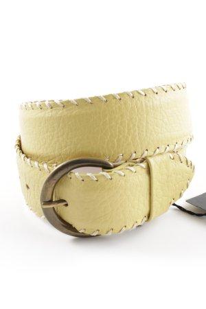 Strenesse Leather Belt primrose casual look