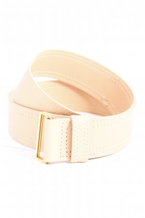 Strenesse Leather Belt beige street-fashion look