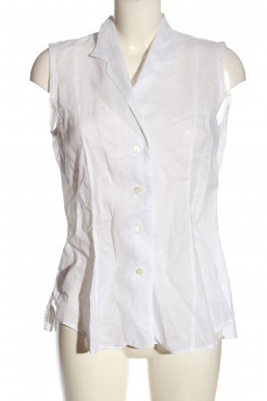 Strenesse Linen Blouse white business style