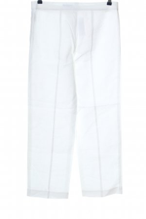 Strenesse Linen Pants white casual look