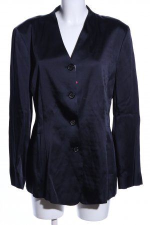 Strenesse Long-Blazer blau Casual-Look