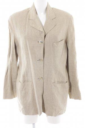 Strenesse Long-Blazer hellbeige Business-Look