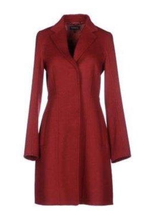 Strenesse Short Coat dark red wool