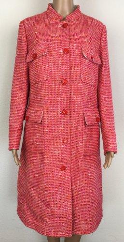Strenesse, Mantel, rot-pink, 40, Baumwolle/Schurwolle, neu, € 650,-