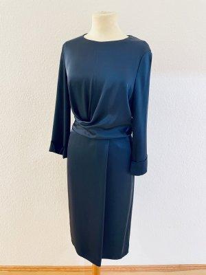Strenesse Midi-Kleid petrol Gr. 36 Neuwertig