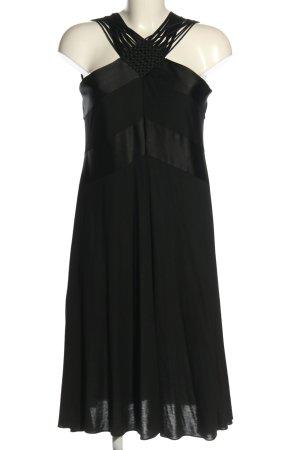 Strenesse Vestido a media pierna negro look casual