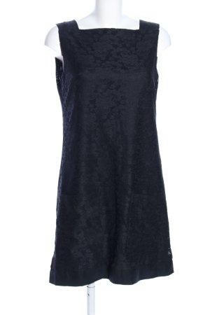 Strenesse Minikleid schwarz Allover-Druck Elegant