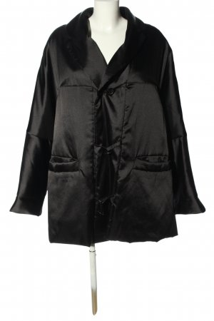 Strenesse Oversized Jacke schwarz Casual-Look