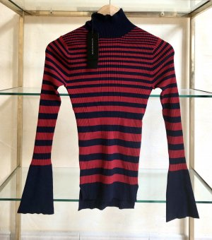 Strenesse Turtleneck Sweater multicolored viscose