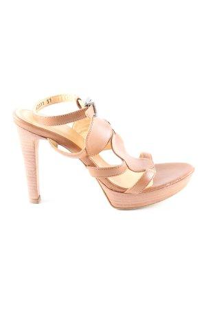 Strenesse Riemchen-Sandaletten bronzefarben Casual-Look