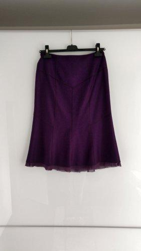 Strenesse Gabriele Strehle Spódnica z godetami ciemny fiolet