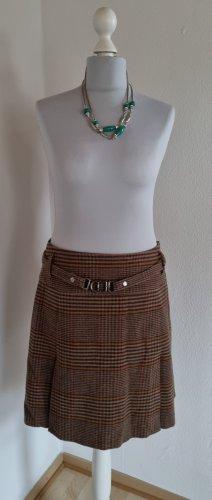 Strenesse Wool Skirt light brown-dark brown