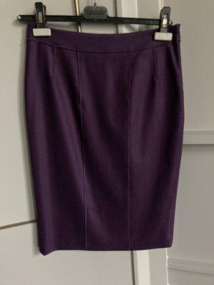 Strenesse Wollen rok bruin-paars