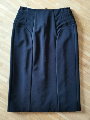 Strenesse Rock High Waist Slim Fit schwarz Gr. 34