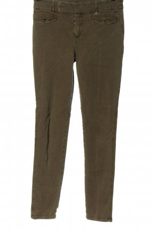 Strenesse Drainpipe Trousers khaki casual look