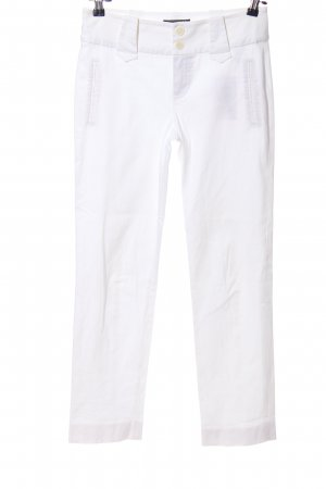 Strenesse Drainpipe Trousers white casual look