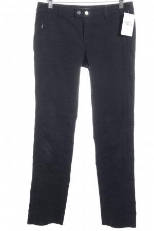 Strenesse Drainpipe Trousers black simple style