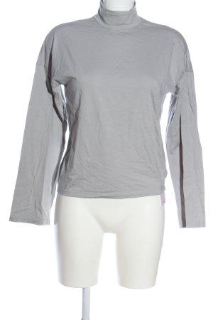 Strenesse Turtleneck Shirt light grey casual look