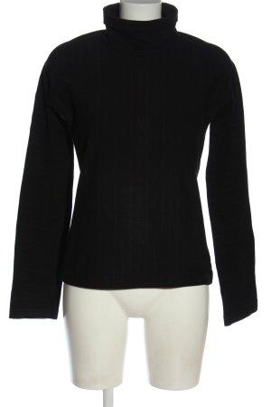 Strenesse Koszulka z golfem czarny W stylu casual