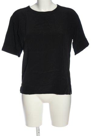 Strenesse Schlupf-Bluse schwarz Casual-Look