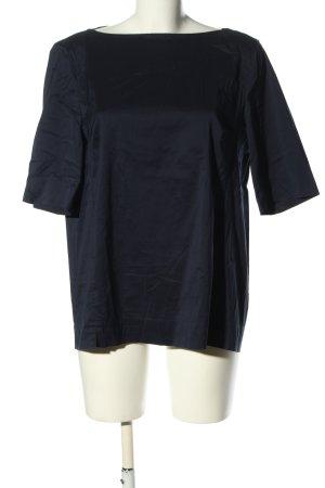 Strenesse Schlupf-Bluse blau Casual-Look