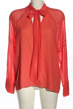 Strenesse Seidenbluse rot Casual-Look