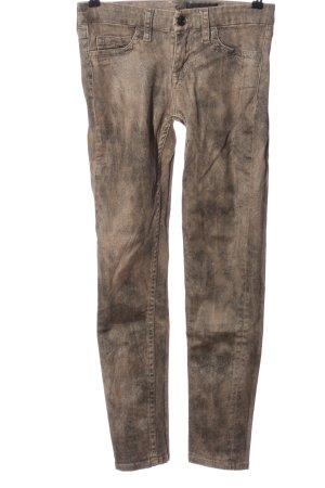 Strenesse Skinny Jeans brown-light grey casual look