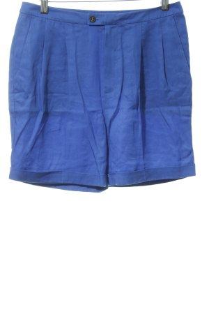 Strenesse Skorts blau Webmuster Casual-Look