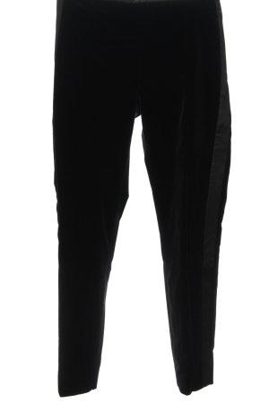 Strenesse Pantalon en jersey noir élégant