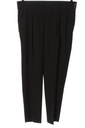 Strenesse Pantalon en jersey noir style d'affaires