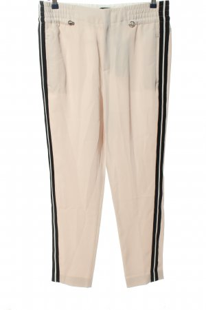 Strenesse Stoffhose creme-schwarz Casual-Look