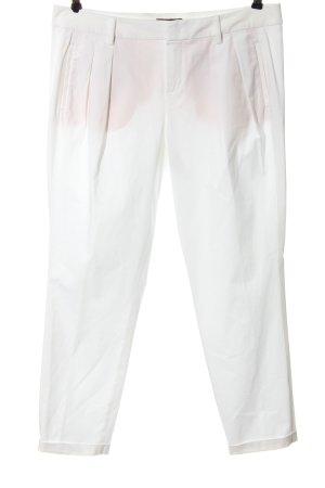 Strenesse Spodnie materiałowe biały W stylu casual