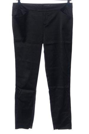Strenesse Pantalon en jersey noir style décontracté