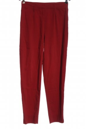 Strenesse Jersey Pants red casual look