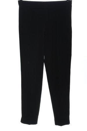 Strenesse Pantalon en jersey noir moucheté style décontracté