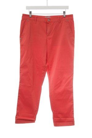 Strenesse Spodnie materiałowe czerwony W stylu casual