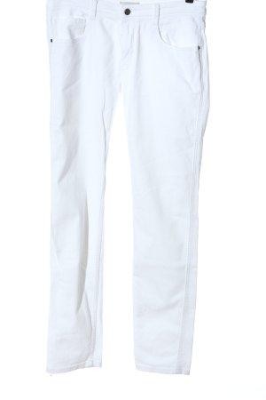 Strenesse Jeans coupe-droite blanc style décontracté