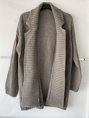 Strenesse Veste en tricot gris-gris brun