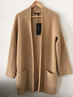 Strenesse Coarse Knitted Jacket camel wool