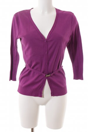 Strenesse Cardigan violet classic style