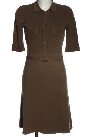 Strenesse Sukienka z dzianiny brązowy W stylu casual