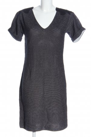 Strenesse Knitted Dress black-white allover print casual look