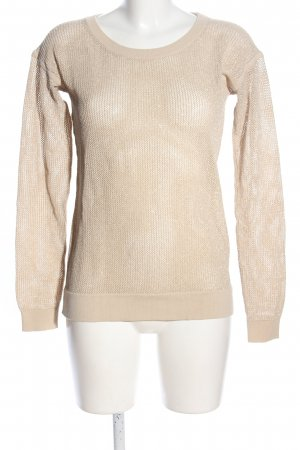 Strenesse Strickpullover creme Casual-Look
