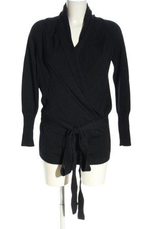 Strenesse Maglione lavorato a maglia nero stile casual