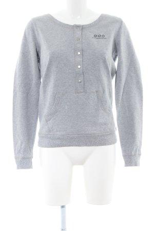 Strenesse Sweatshirt hellgrau Casual-Look